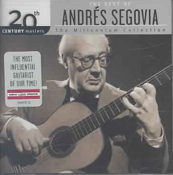 20TH CENTURY MASTERS:MILLENNIUM COLLE BY SEGOVIA,ANDRES (CD)